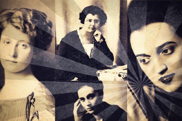 Ženy, které byly inspirací (Sidonie Nádherná, Jarmila Mayerová, Kamila Stösslová, Zuzka Zguriška)