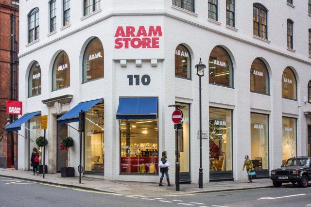 Aram Store, Covent Garden, Londýn