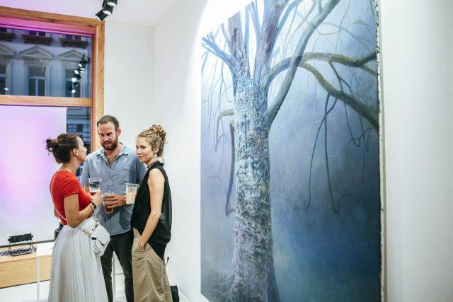 The Chemistry Gallery | Vernisáž výstavy Jana Uldrycha a Lukáše Nováka + otevření nového prostoru