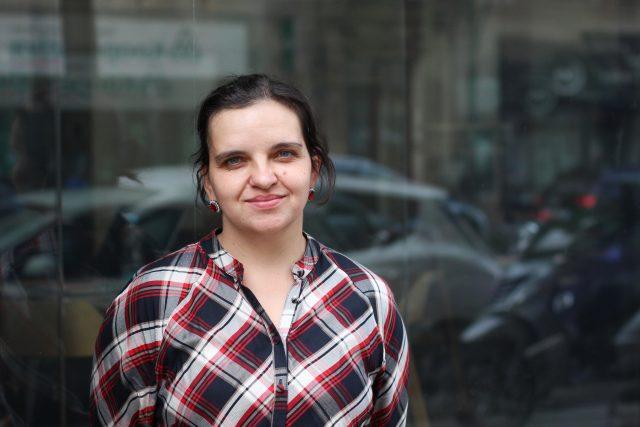 Eva Lehečková,  jazykovědkyně   foto: Kateřina Cibulka,  Český rozhlas Plus