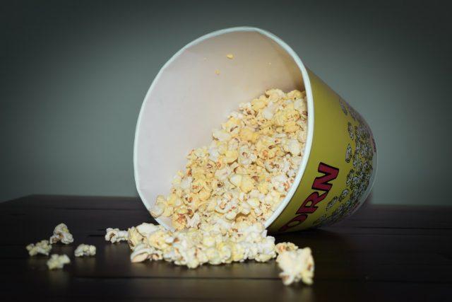 popcorn   foto: Lynda Sanchez,  Unsplash