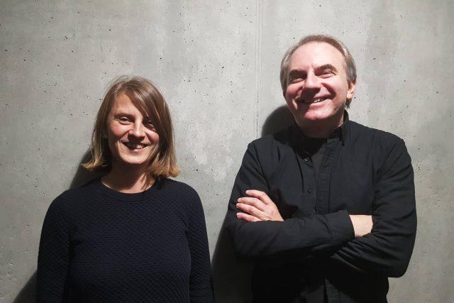 Vendula Hnídková a Jan Šépka v ArtCafé