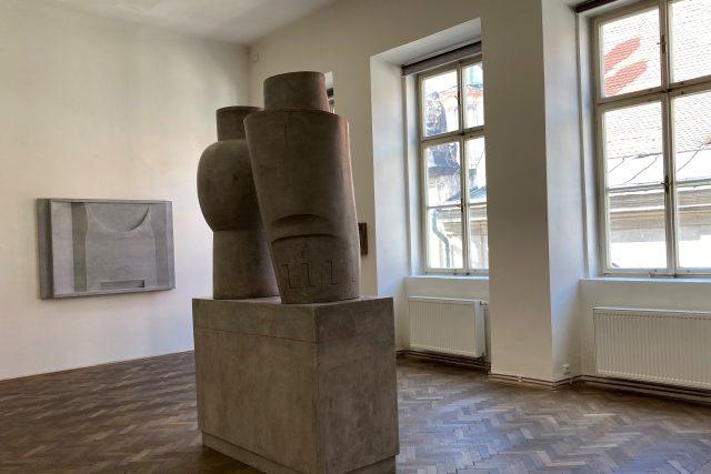 Výstava Moniky Immrové Tříbení,  GHMP Colloredo-Mansfeldský palác v Praze | foto: Pavla Melková,  Český rozhlas