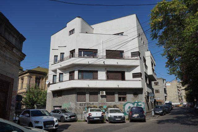 Vila Solly Gold v Bukurešti,  architekt Marcel Janco | foto: Adam Štěch