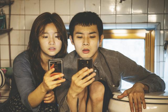 Z filmu Parazit, režie Bong Joon-ho