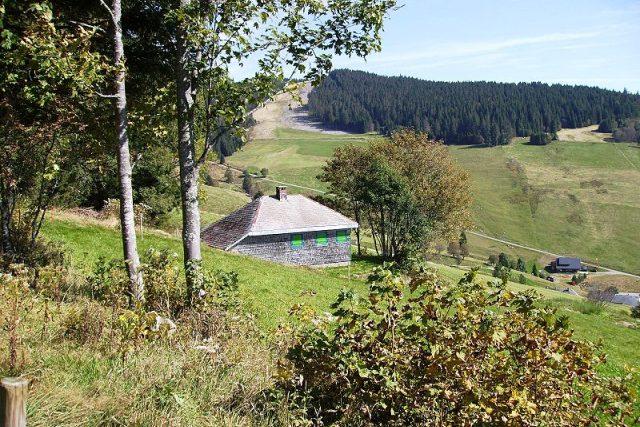 Heideggerova chata v Todtnaubergu ve  Schwarzwaldu