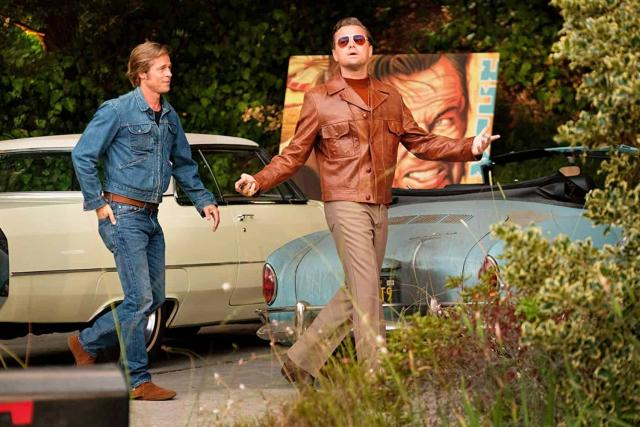 Z filmu Tenkrát v Hollywoodu