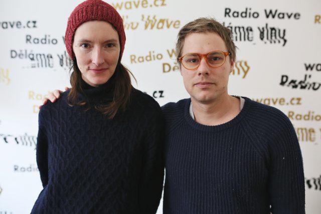 Jindřiška Křivánková a Aleš Čermák