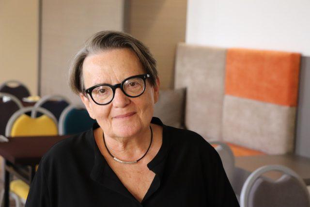 Agnieszka Holland | foto: Tomáš Pilát,  Český rozhlas
