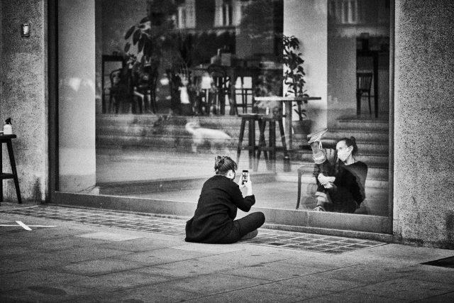 Z inscenace DUETY | foto: Marek Bartoš,  Tanec Praha