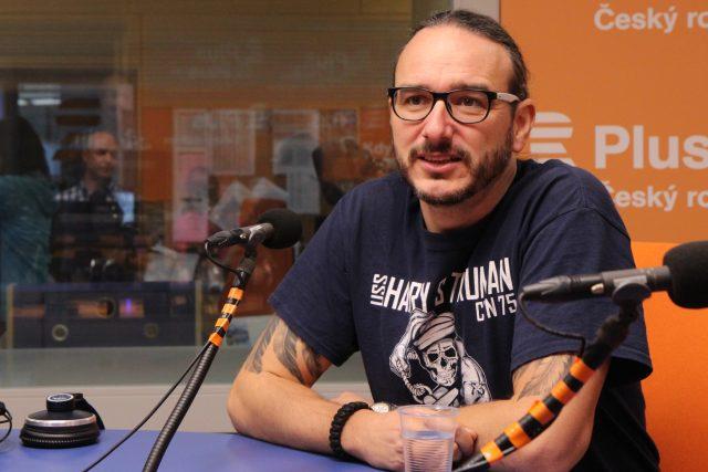 Novinář a bývalý zahraniční zpravodaj České televize na Blízkém východě Jakub Szántó