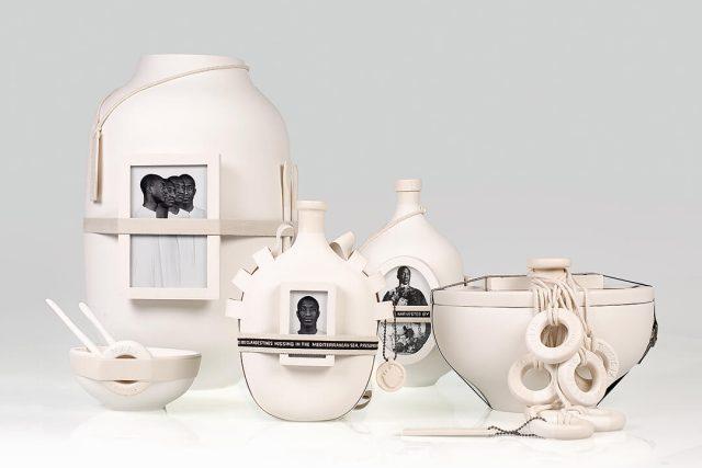 První společný projekt Formafantasmy byla kolekce nádob Moulding Traditions