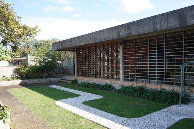 Dům Clemente Gomes, architekt Rino Levi, Brazílie, rok 1963
