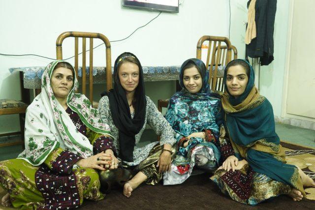 Ženy. Chabahar, Írán
