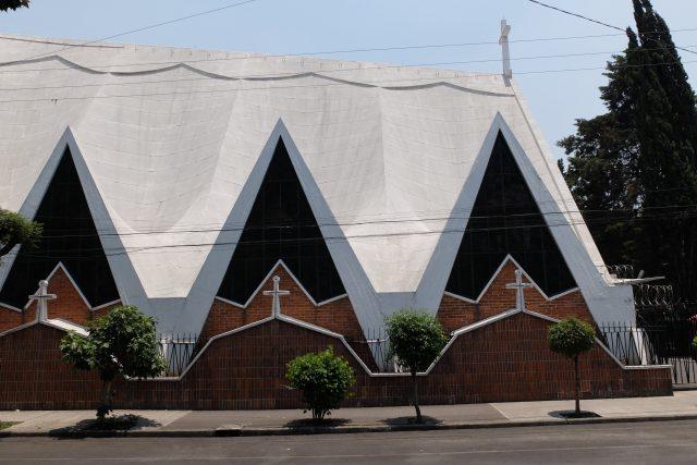 Félix Candela, Kostel Iglesia de la Medalla de la Virgen Milagrosa, Mexico City