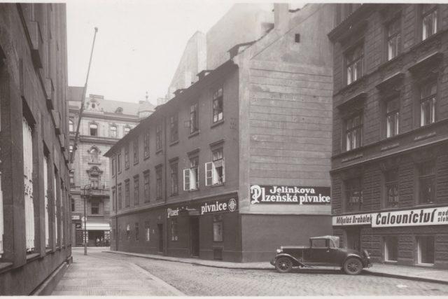 Pivnice v Charvátově ulici