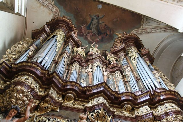 Velké svatojakubské varhany   foto: Festival Audite Organum