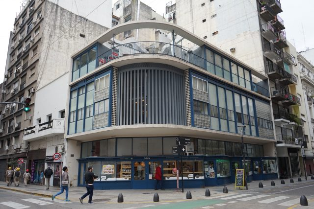 Ateliéry Paraguay-Suipacha v Buenos Aires, architekt Antonio Bonet Castellana