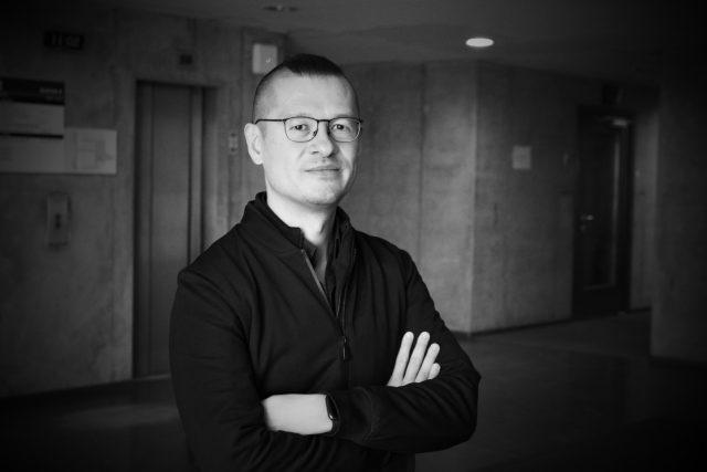 Osamu Okamura   foto: Michael Erhart,  Český rozhlas,  Český rozhlas