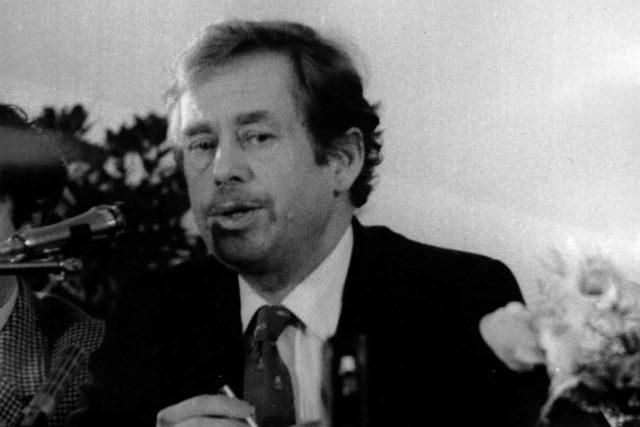 Václav Havel | foto: Archivní a programové fondy Českého rozhlasu
