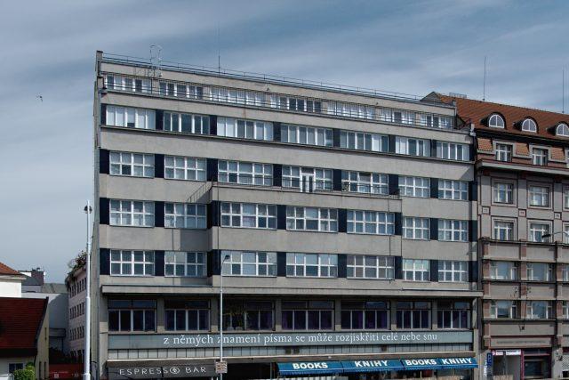 Centrála společnosti Ferra v Praze,  ulice Na Florenci | foto: Jakub Potůček,  Český rozhlas