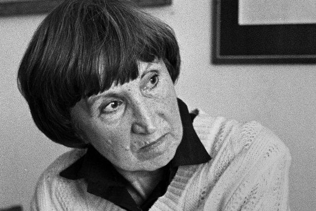 Bohumila Grögerová,  80. léta | foto: Hana Hamplová,  Památník národního písemnictví