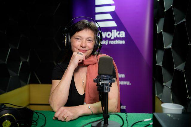 Yvona Kreuzmannová   foto: Khalil Baalbaki,  Český rozhlas