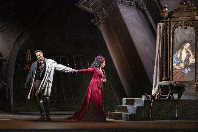Opera Tosca,  Státní opera | foto: Patrik Borecký,  Národní divadlo