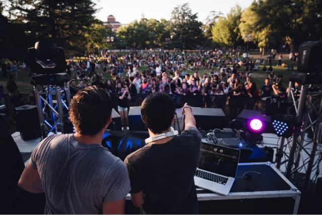 koncert, léto, festival