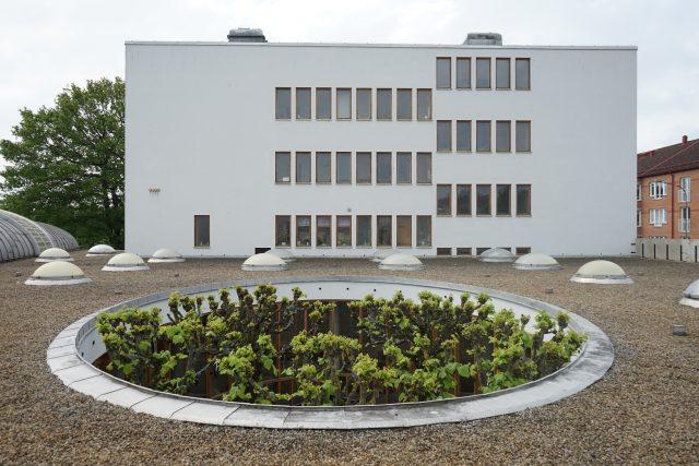 Kulturní centrum ve švédském městě Eslöv, architekt interiéru Hans Asplund
