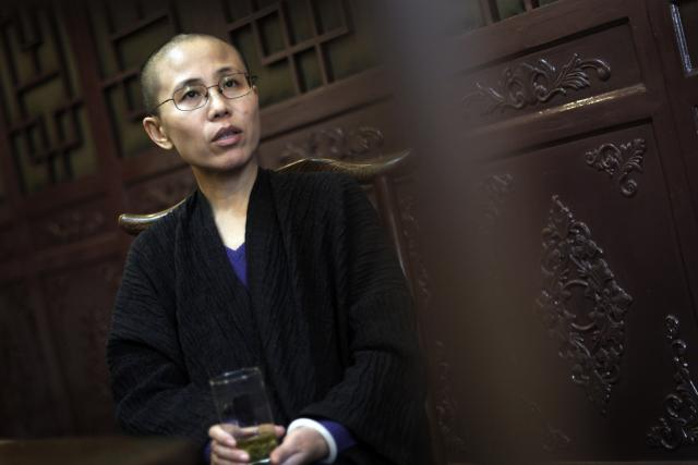 Liou Sia  (manželka Liou Siao-po) | foto: Andy Wong,  ČTK/AP
