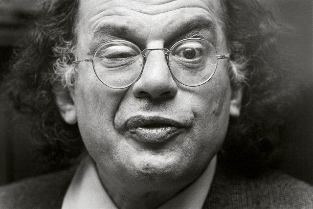 Allen Ginsberg na snímku z roku 1979