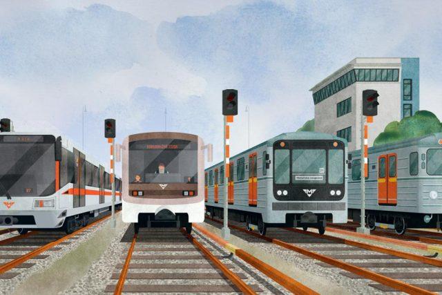Ukázka z knihy To je metro,  čéče! | foto: Nakladatelství Paseka