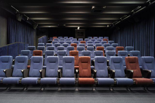 Kinosál nového filmového centra Edison Filmhub