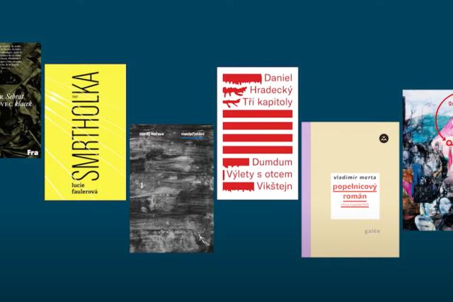 Nominace na cenu Magnesia Litera v kategorii nejlepší próza   foto: Reprofoto Magnesia litera