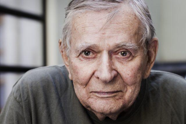 Herec Jan Skopeček na fotografii z roku 2010
