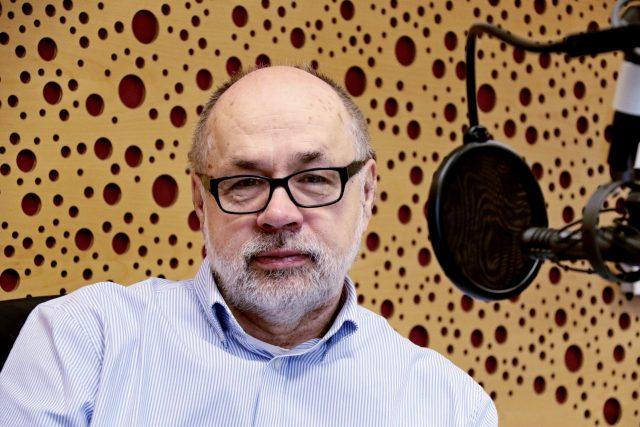 Jiří Pehe   foto: Tomáš Roček,  Český rozhlas,  Český rozhlas