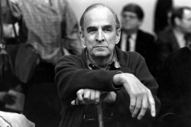 Ingmar Bergman, švédský režisér na snímku z roku 1989.