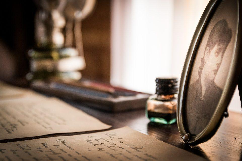Dopis, rukopis, portrét