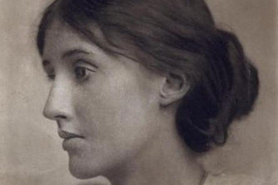 Spisovatelka Virginia Woolf na portrétu z roku 1902