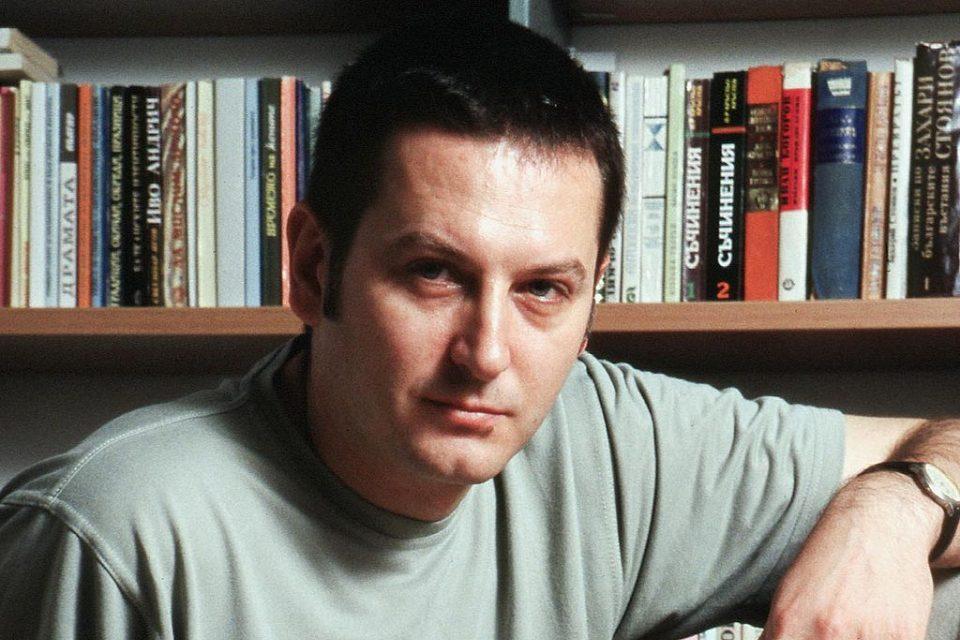 Bulharský spisovatel Georgi Gospodinov (2005)