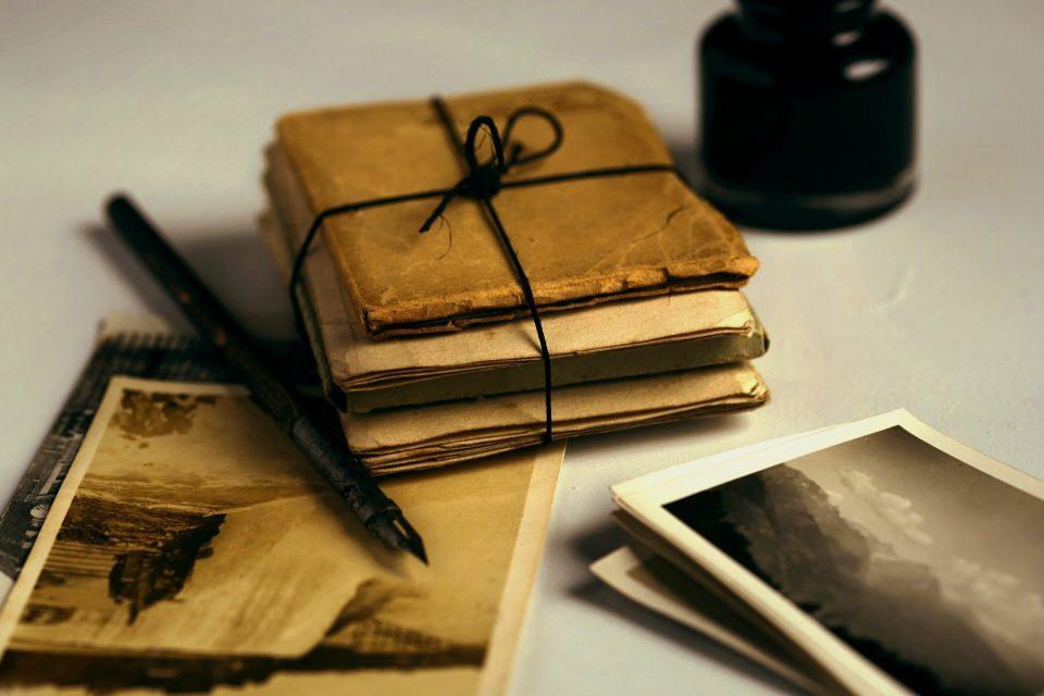 Paměti, staré dopisy (ilustrační foto)