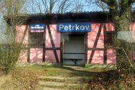 Petrkov, železniční stanice