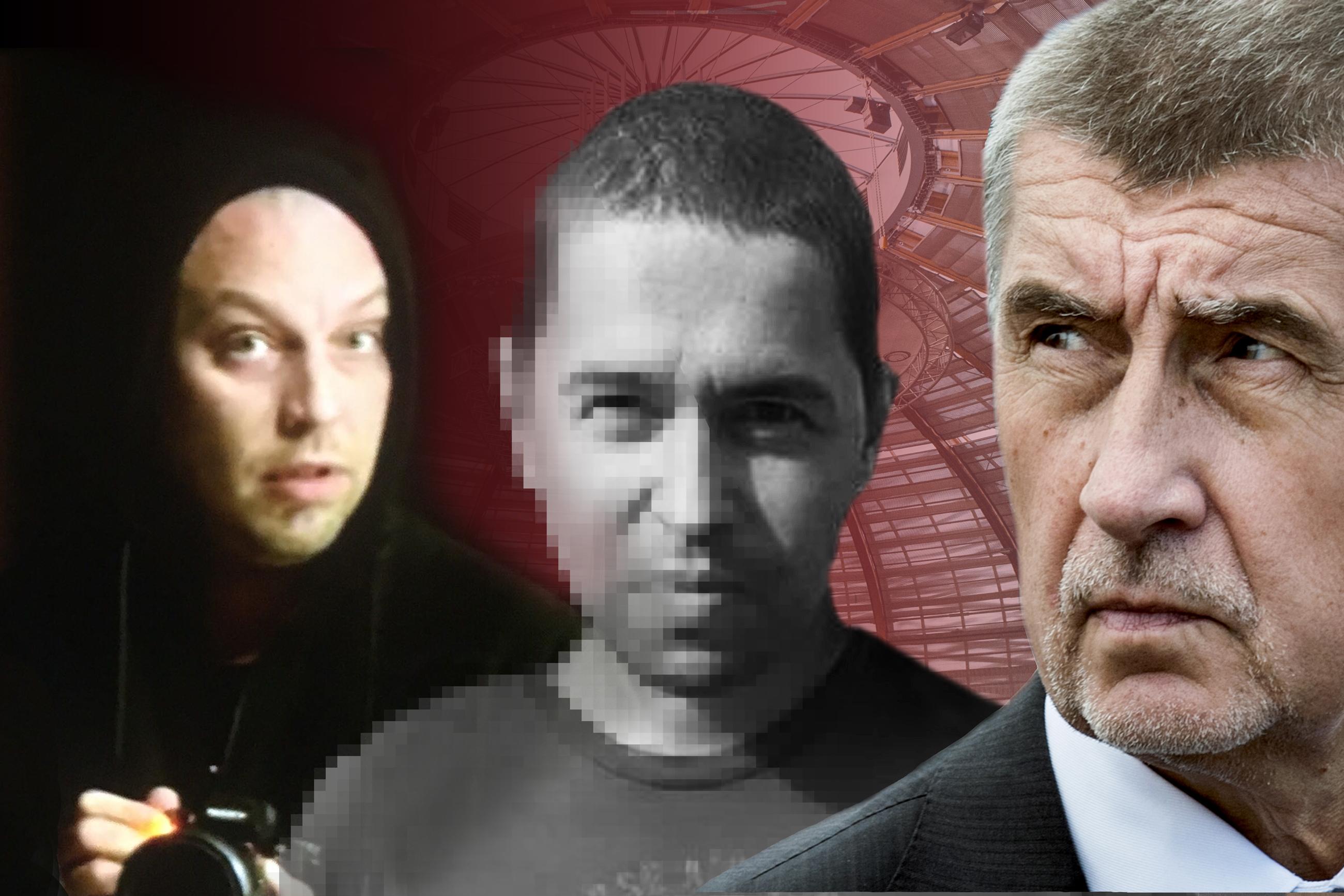 Andrej Babiš, Andrej Babiš mladší a Petr Protopopov.
