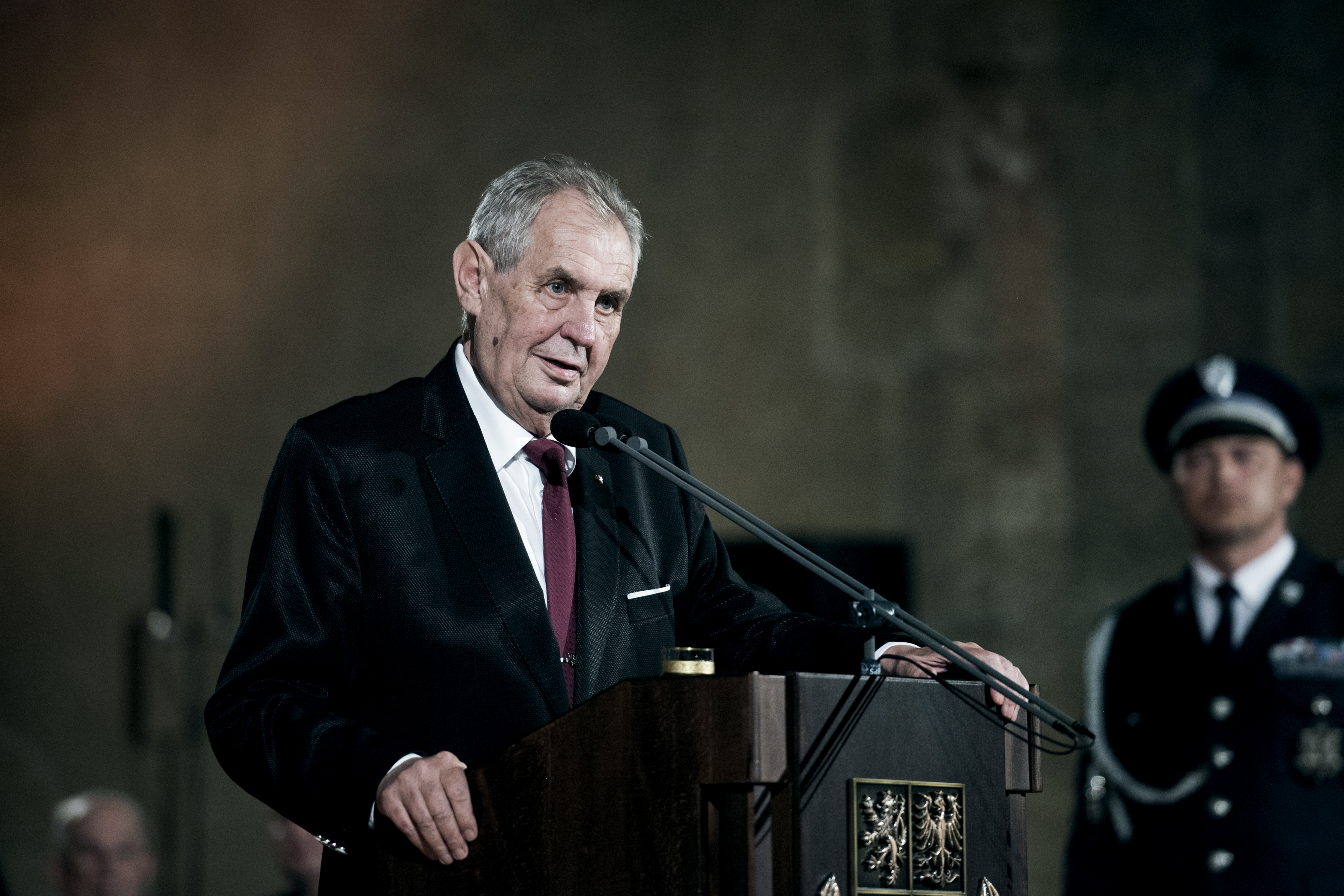 Státní vyznamenání, Vladislavský sál, Miloš Zeman